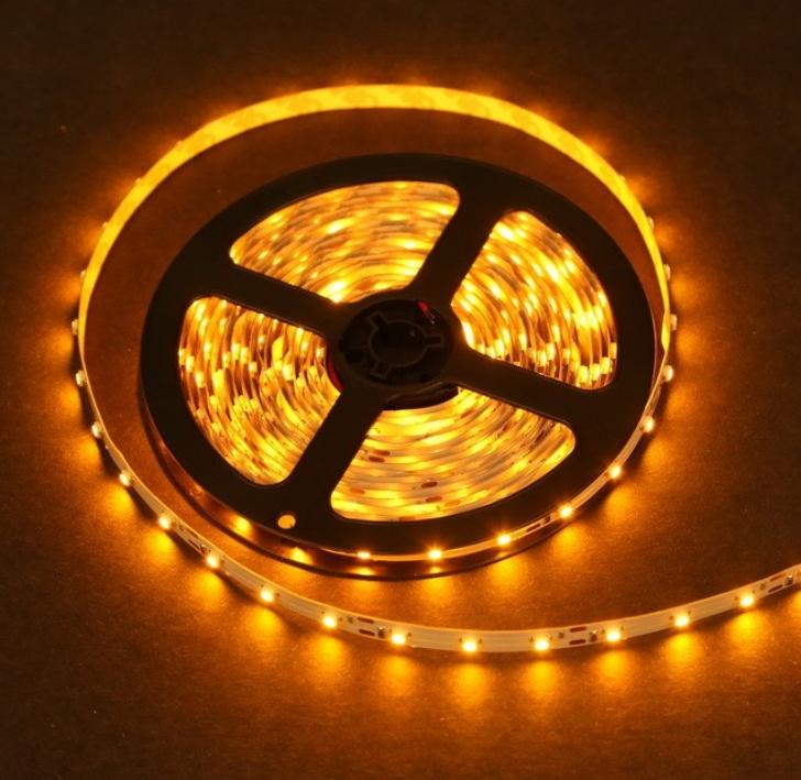 1 meter standard yellow led light strip close aloadofball Images