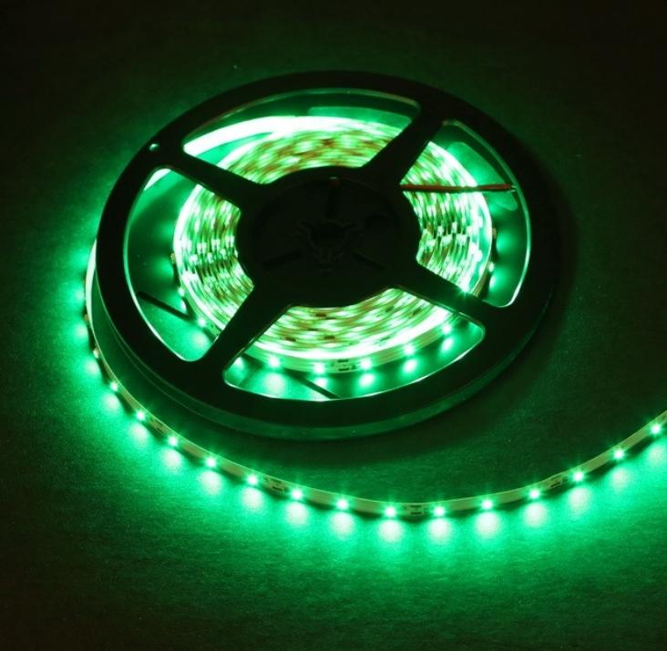 Green Led Strip Light: 1 Meter Standard Green LED Light Strip