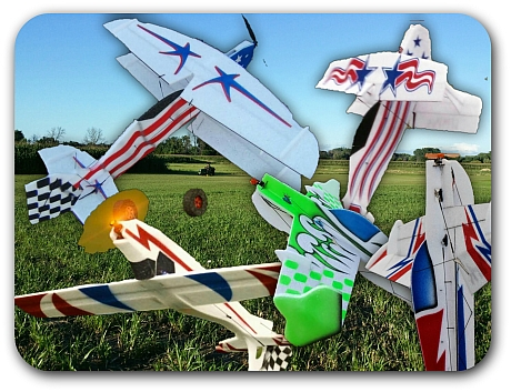 EPP Foam Airplanes