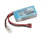 Glacier 30C 1300mAh 3S 11.1V LiPo Battery with T Plug