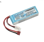 Glacier 30C 2200mah11.1V  3 cell Lipo Battery T Plug