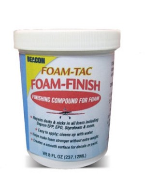 FOAM-TAC FOAM FINISH