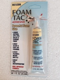 Foam Tac Adhesive 1 oz tube