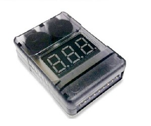 Battery Monitor Voltage Checker 2-6 Cell Lipo plus USB and Alarm